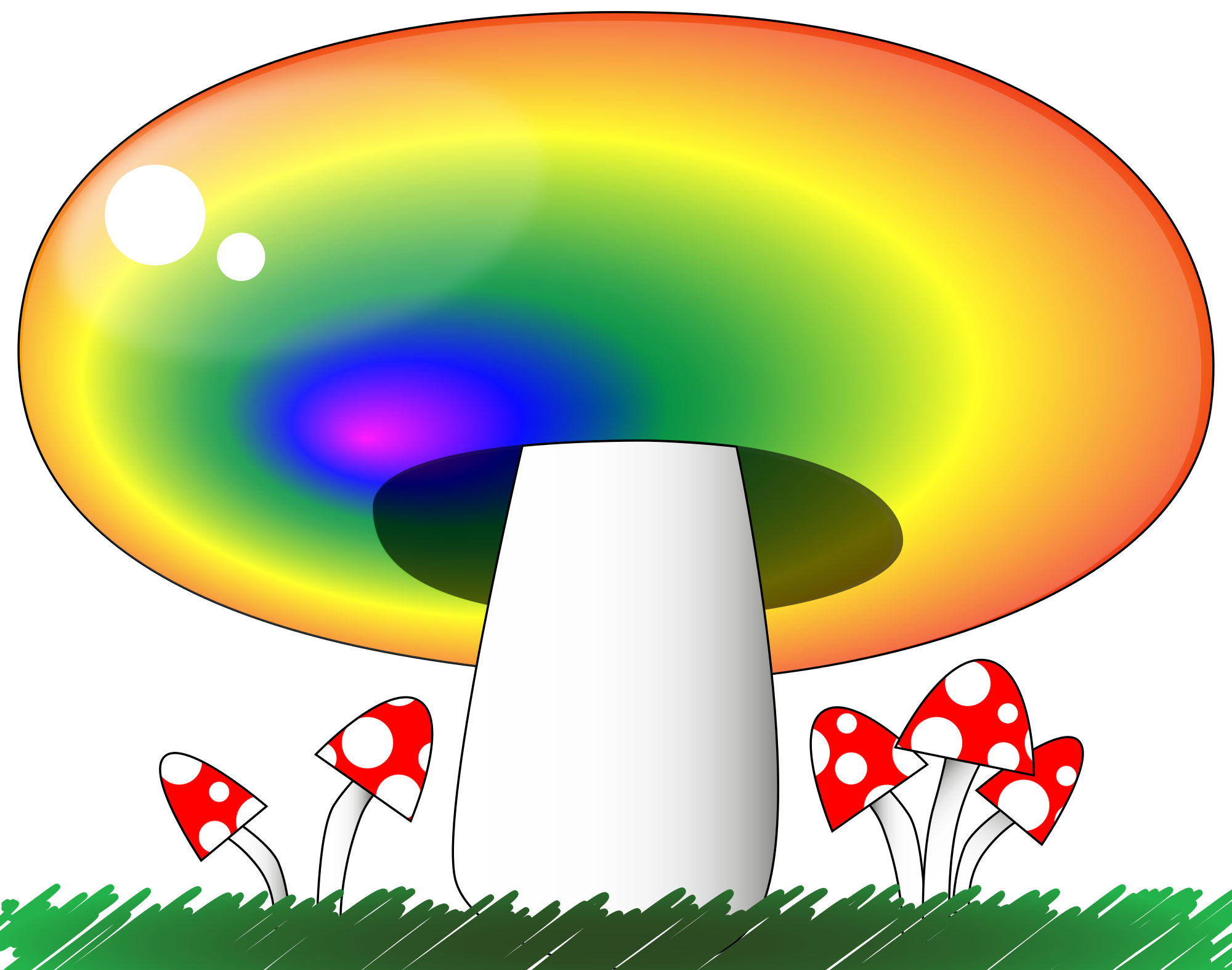 png library stock File svg wikimedia commons. Mushroom clipart rainbow.