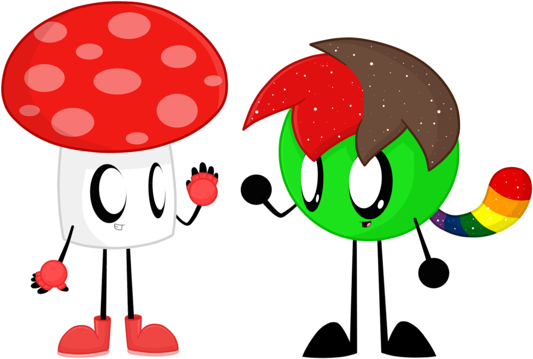 clip art black and white stock Commission ryan ball and. Mushroom clipart rainbow.