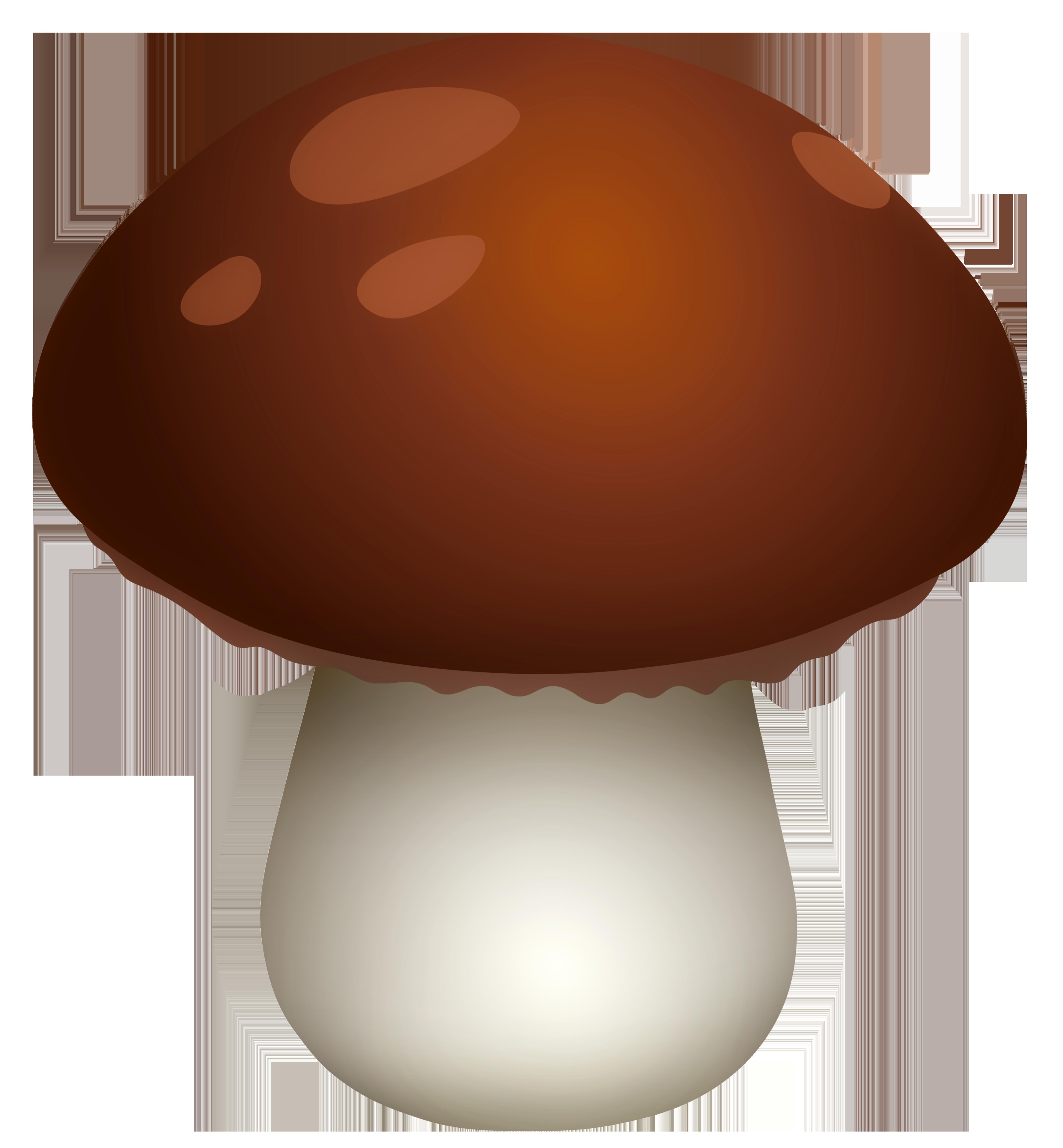 clip art freeuse library Dark brown mushroom png. Mushrooms clipart.