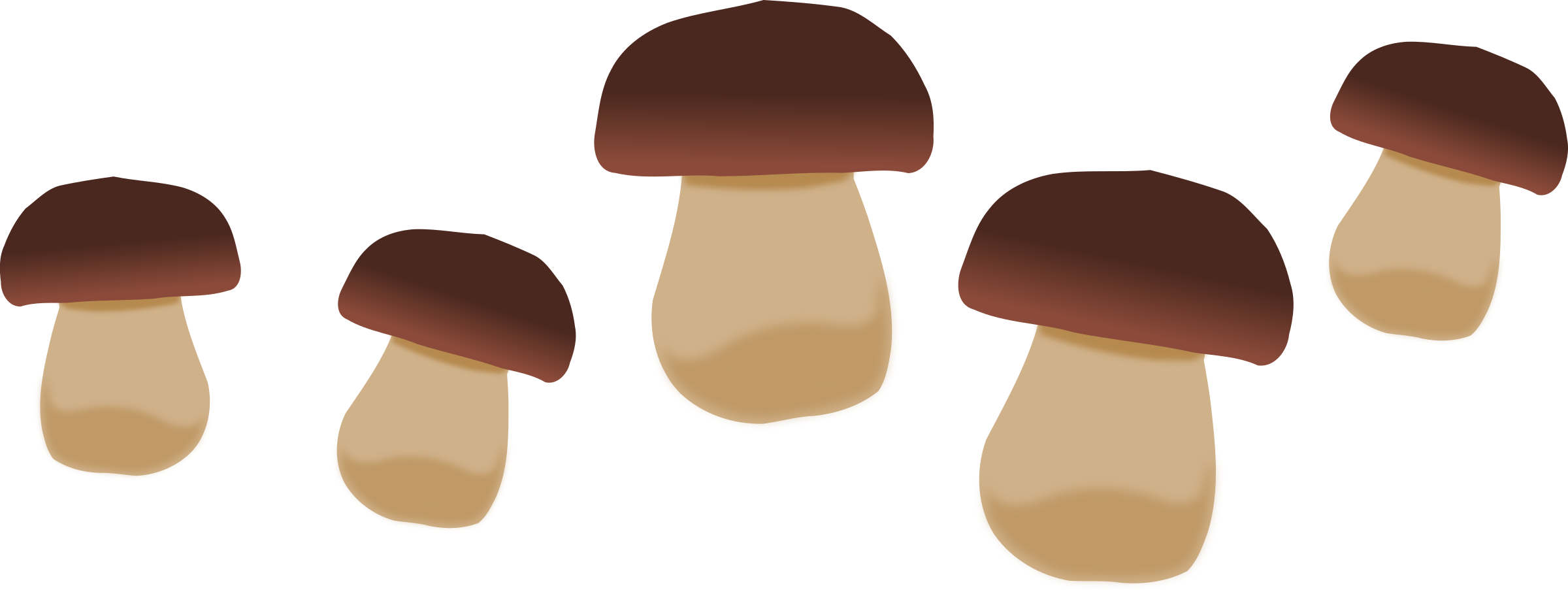 clip art free library Big image png. Mushrooms clipart