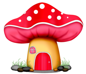 graphic free Mushrooms clipart fairy cottage. Wp tos fairyhouse png.