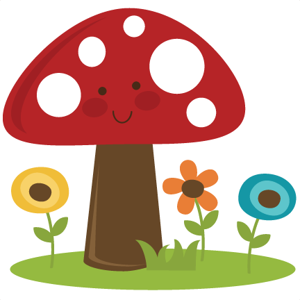 png transparent stock Mushrooms clipart nice. Cute mushroom svg cut