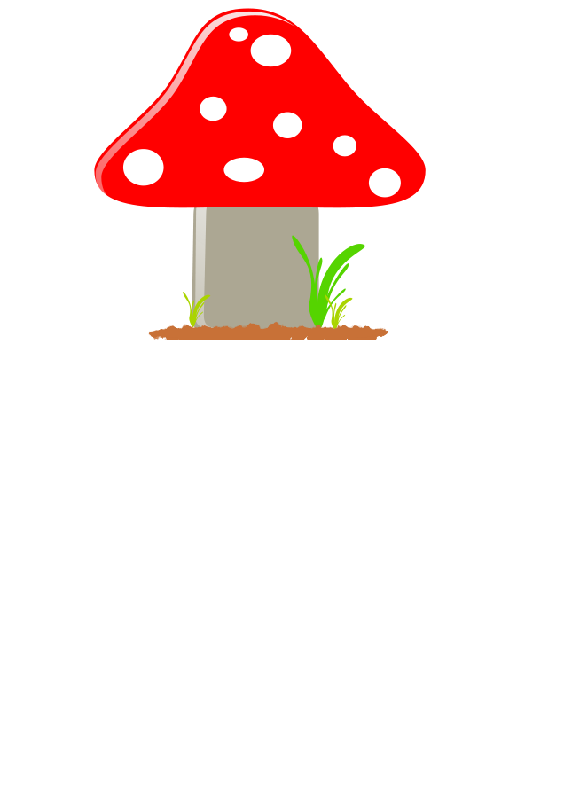 banner download Mushrooms clipart orange mushroom. Yoga siluete set svg.