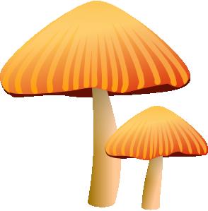 clip art library stock Rockraikar clip art at. Mushrooms clipart orange mushroom.