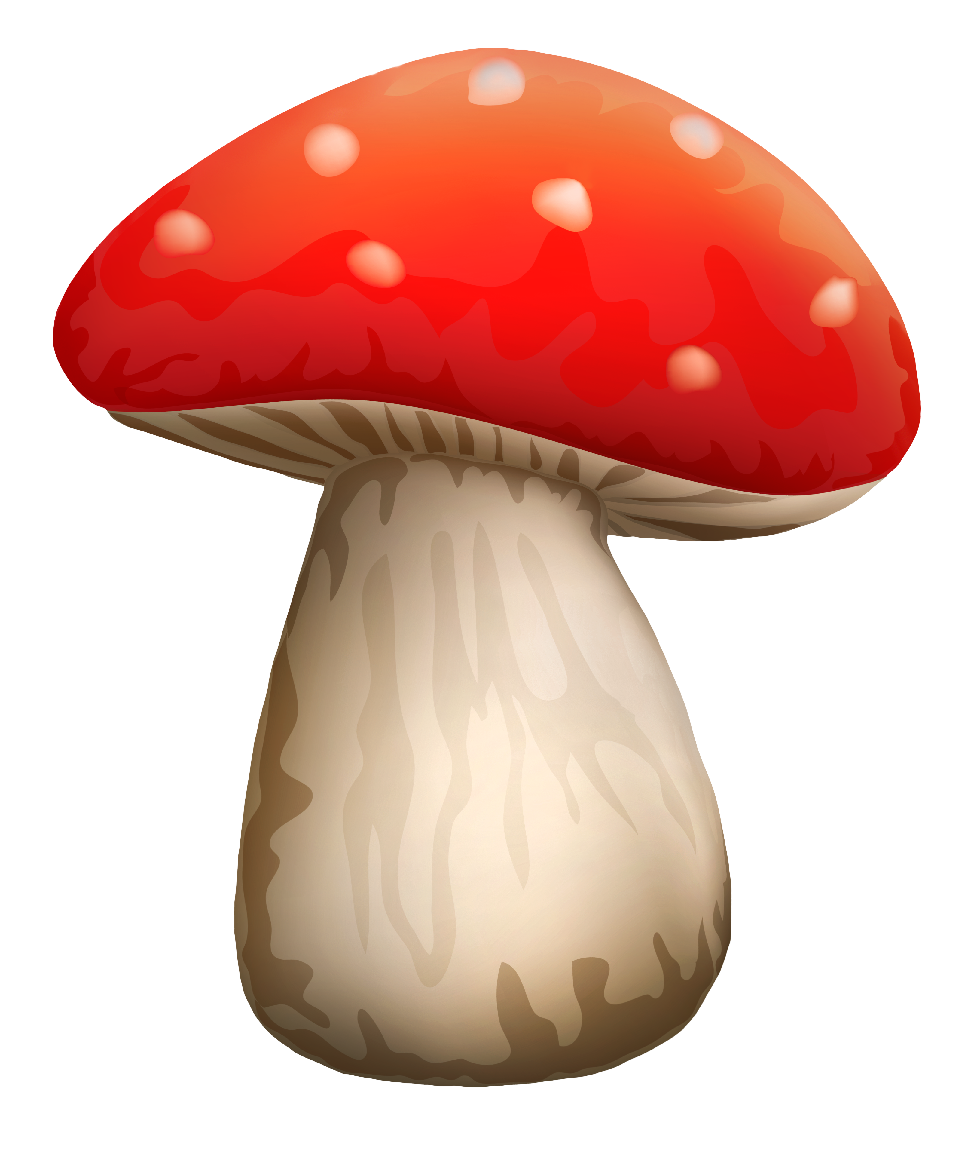 picture black and white Mushroom clipart agaricus. Poisonous red with white.