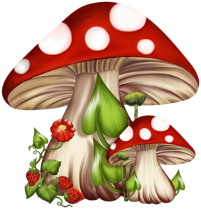 banner freeuse library  ea d xl. Mushrooms clipart vintage.