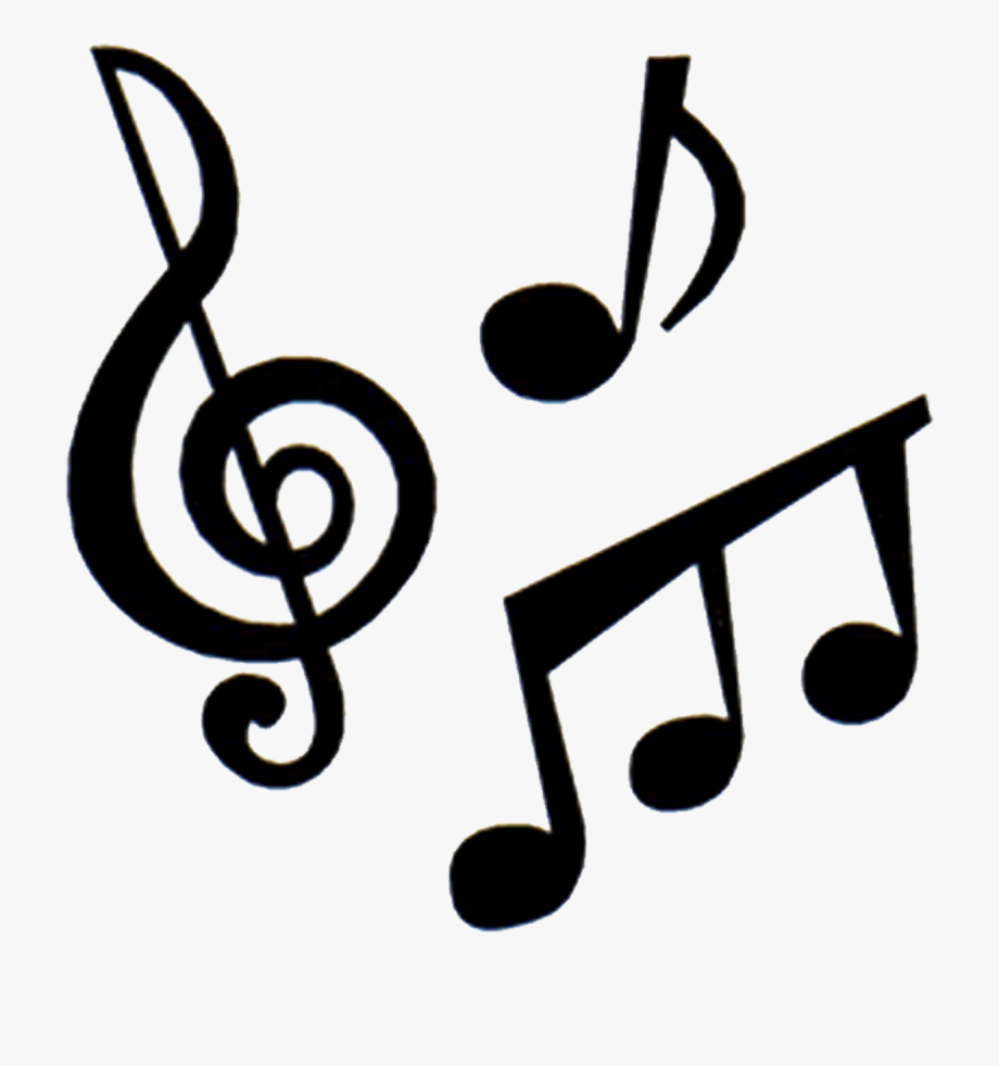 png free stock Instruments and notes . Music clipart.