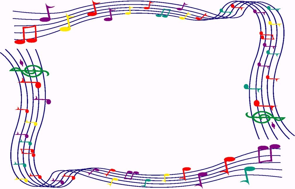 picture library download Free border cliparts download. Music borders clipart