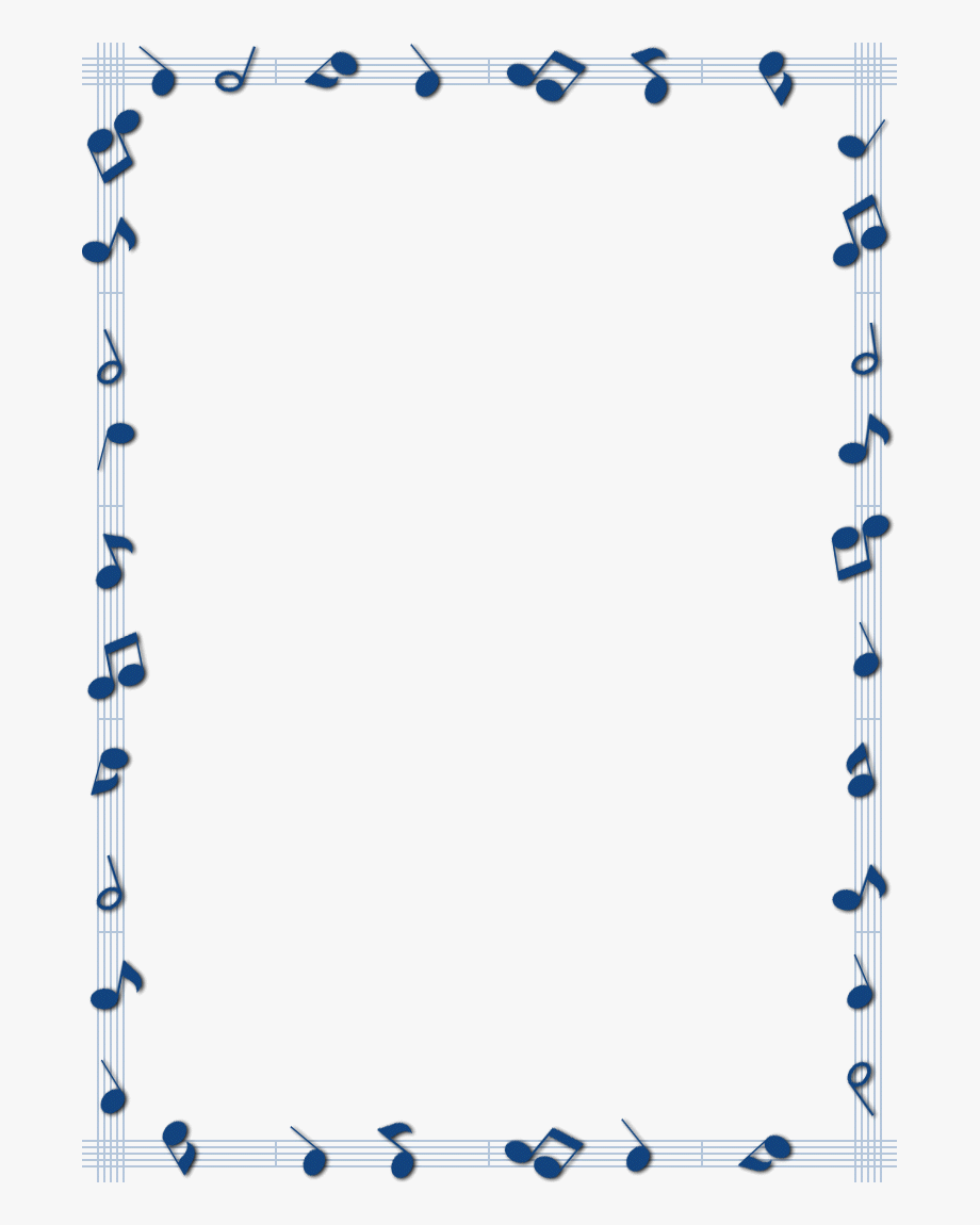 clip transparent stock  collection of border. Music borders clipart
