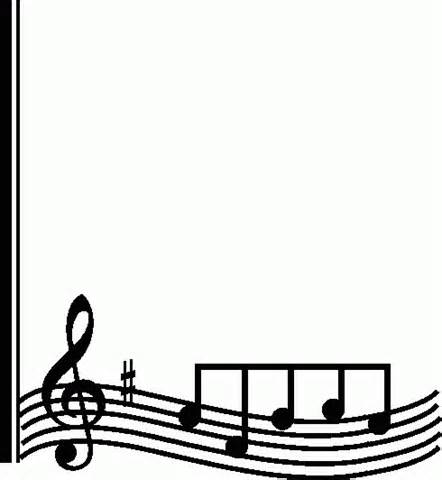 image free download Clip art free panda. Music clipart borders