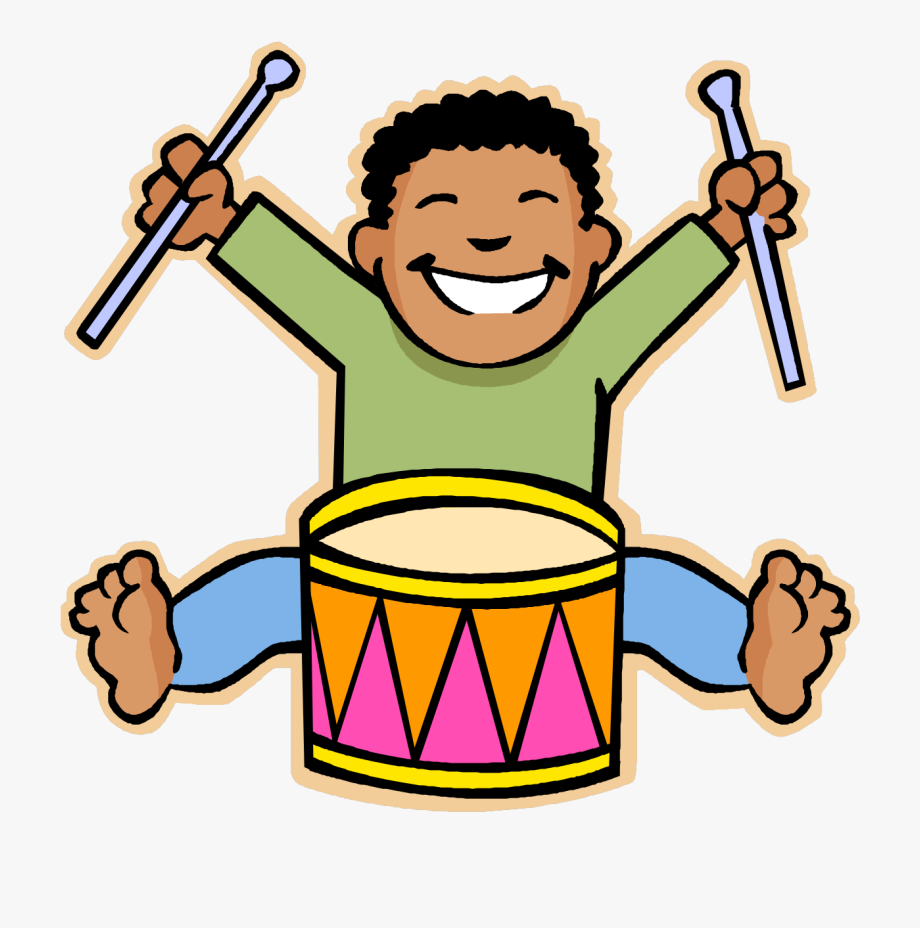 clip art freeuse download Music clipart for kids. Playing and movement