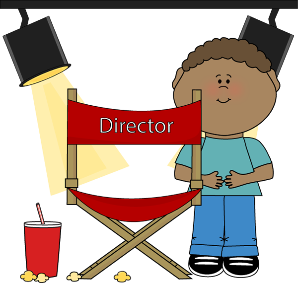 clip art download Collection of free Directing clipart theatre director