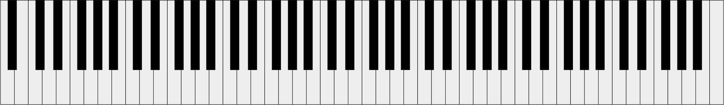 svg black and white library The of a standard. Music keyboard clipart