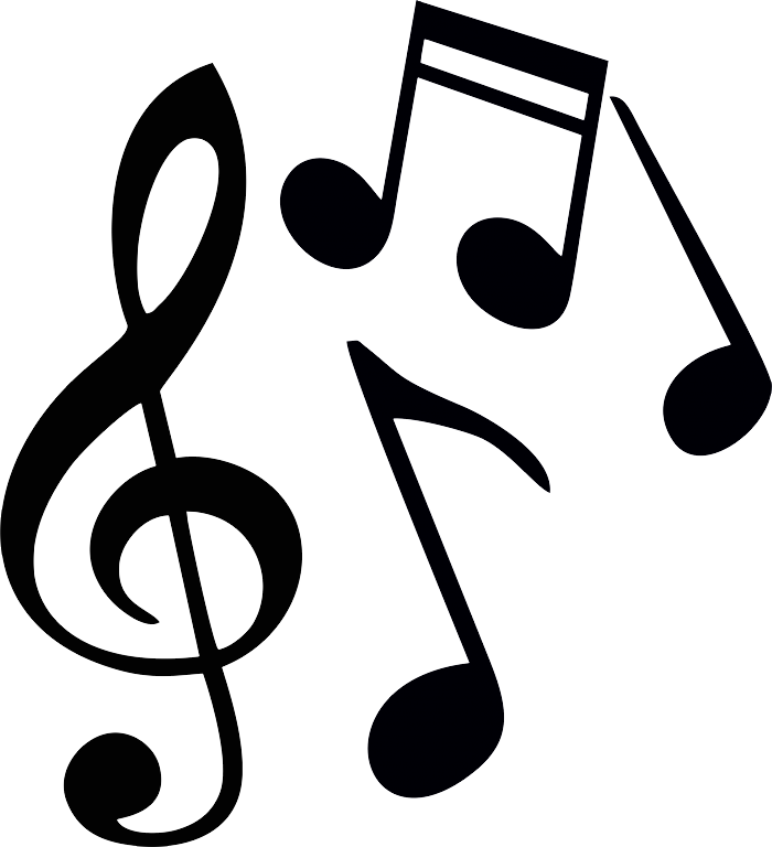 jpg royalty free library Music notes PNG images free download
