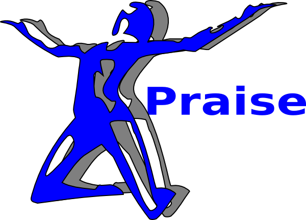 graphic free download Praise and worship clipart black and white. Woman praising god clip