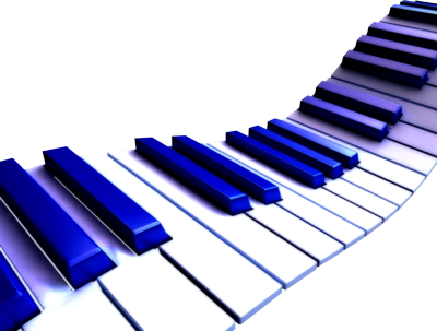 png library Musical keyboard clipart. Blue piano keys krazy