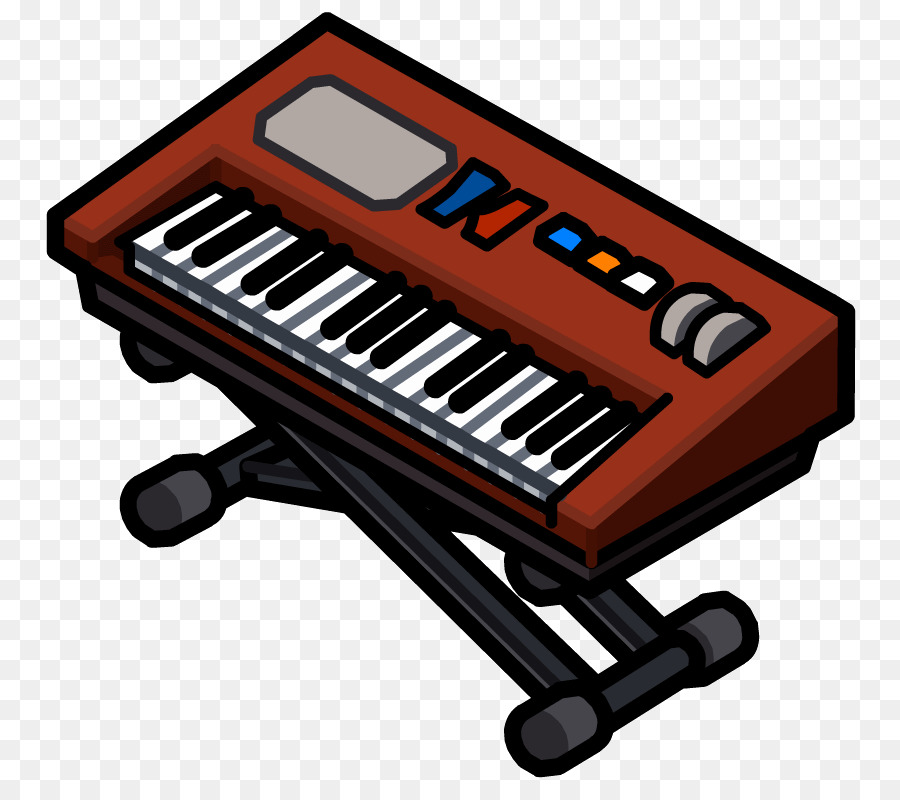 svg royalty free Piano cartoon technology product. Musical keyboard clipart