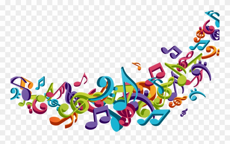 graphic transparent download Dance colorful musical note. Musician clipart music dancing.