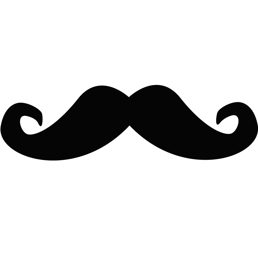 picture freeuse library Mustache clipart black and white. Moustache royalty free clip
