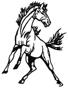 clip library stock Mustang clipart. Clip art horse panda