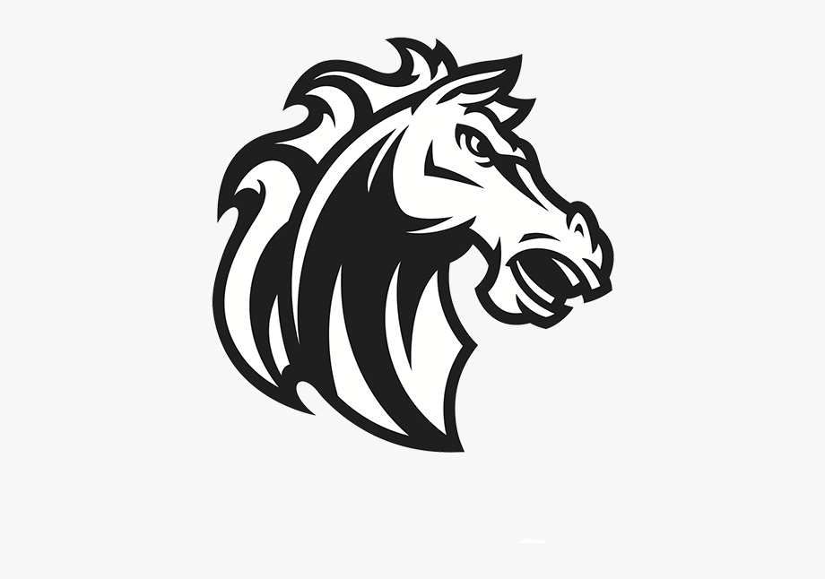 picture free download Horse logo transparent . Mustang clipart