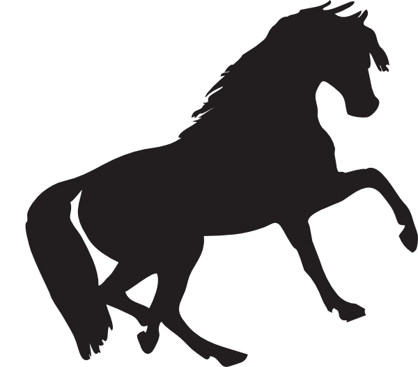 clipart black and white download Mustang Clip Art at Clker