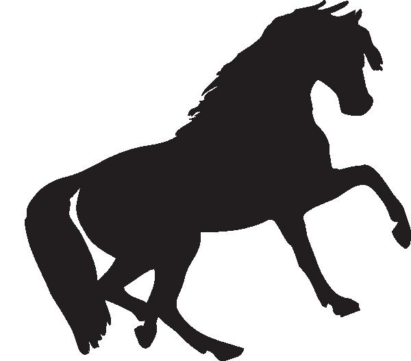 clip transparent download Clip art at clker. Mustang clipart.