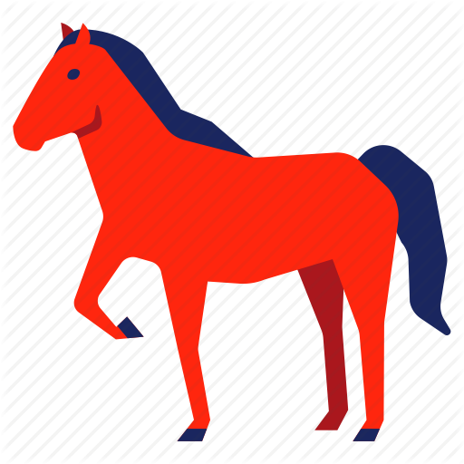 vector transparent download Chinese zodiac by siwat. Mustang clipart bronco.