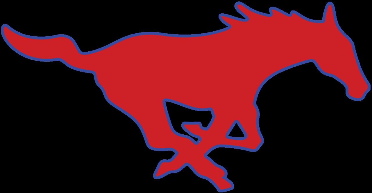 clipart transparent download File smu logo svg. Mustang clipart mustang emblem.