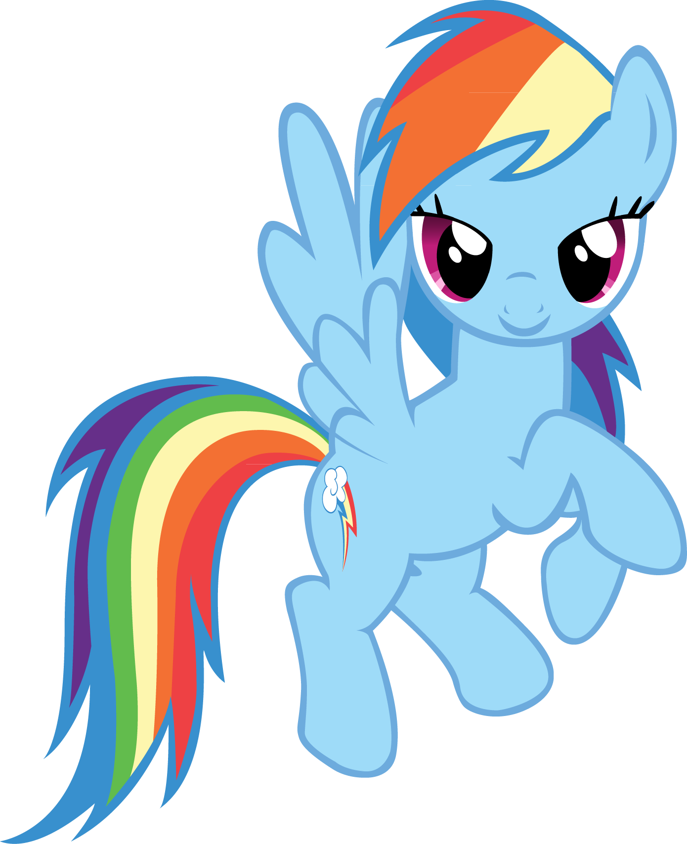 picture free Image fanmade rainbow dash. My little clipart.