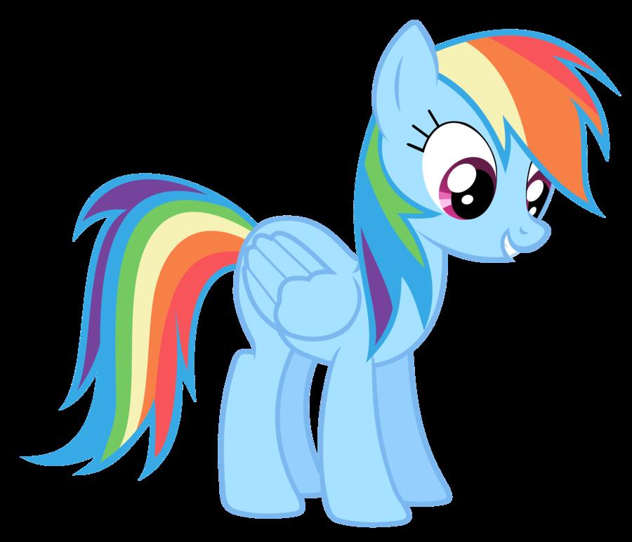 banner stock Rainbow Dash