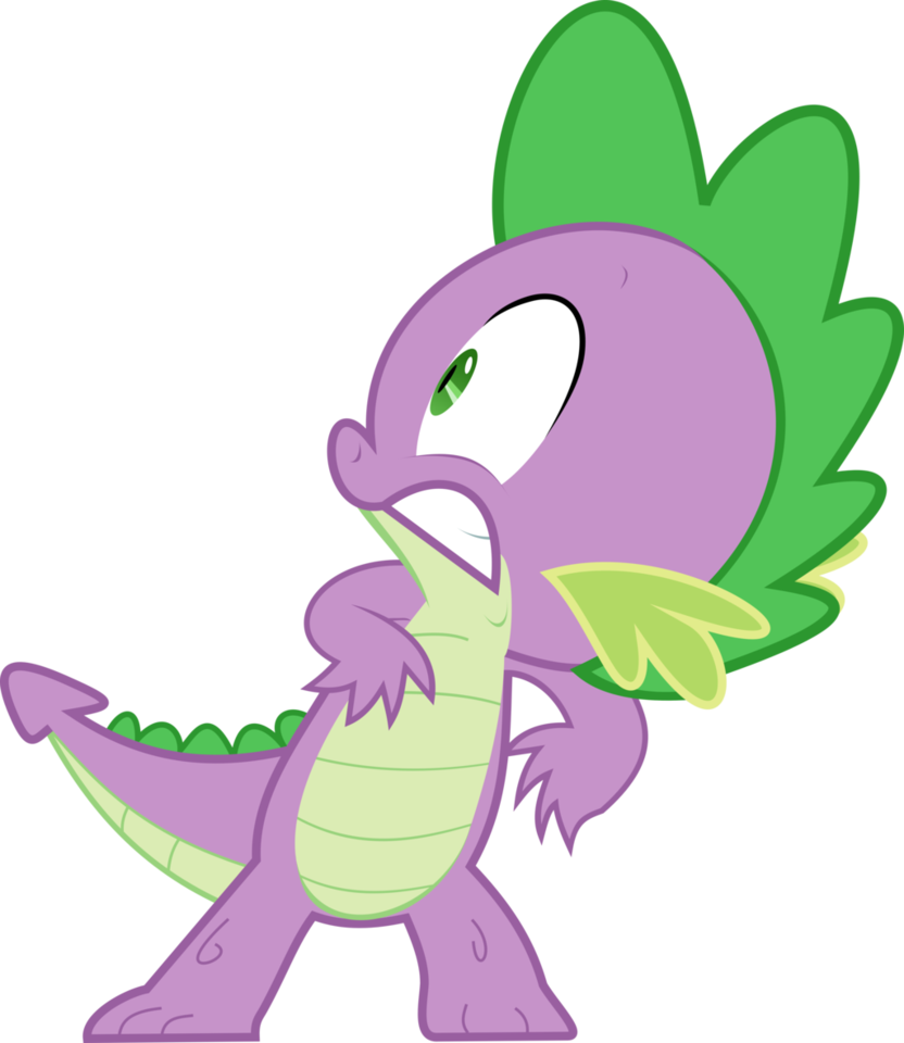 jpg transparent stock Paranoid pony friendship is. My little clipart spike.