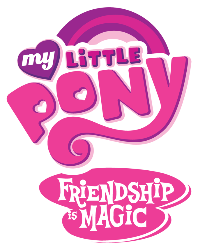 image black and white library my little pony logo clipart #66798728
