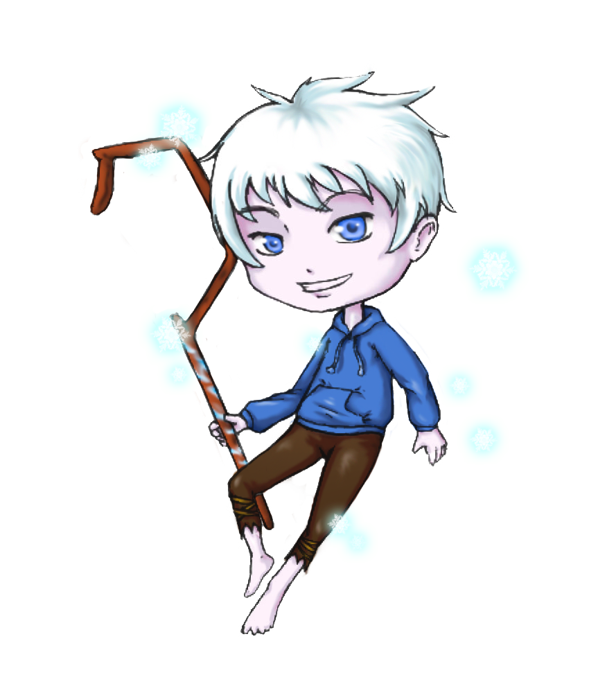 transparent download Chibi jack frost by. Mylar drawing frosted