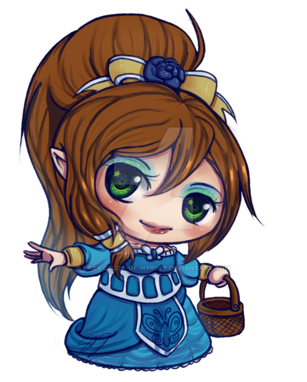 banner transparent Little Miss Mystic by Lady