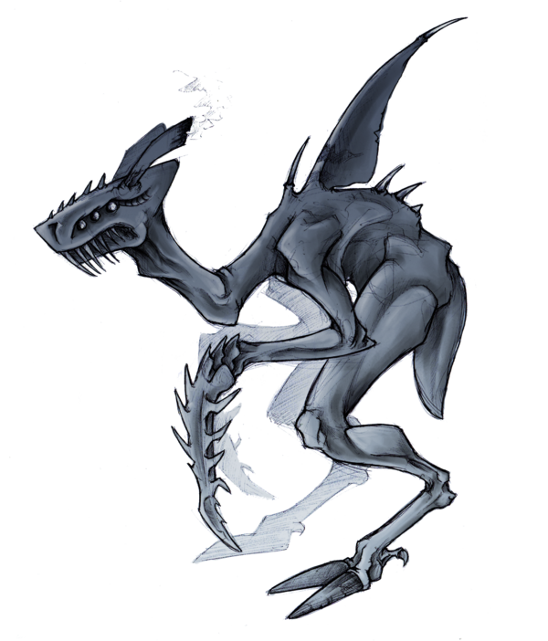 banner transparent Land Shark Ghoul Thing by Delta