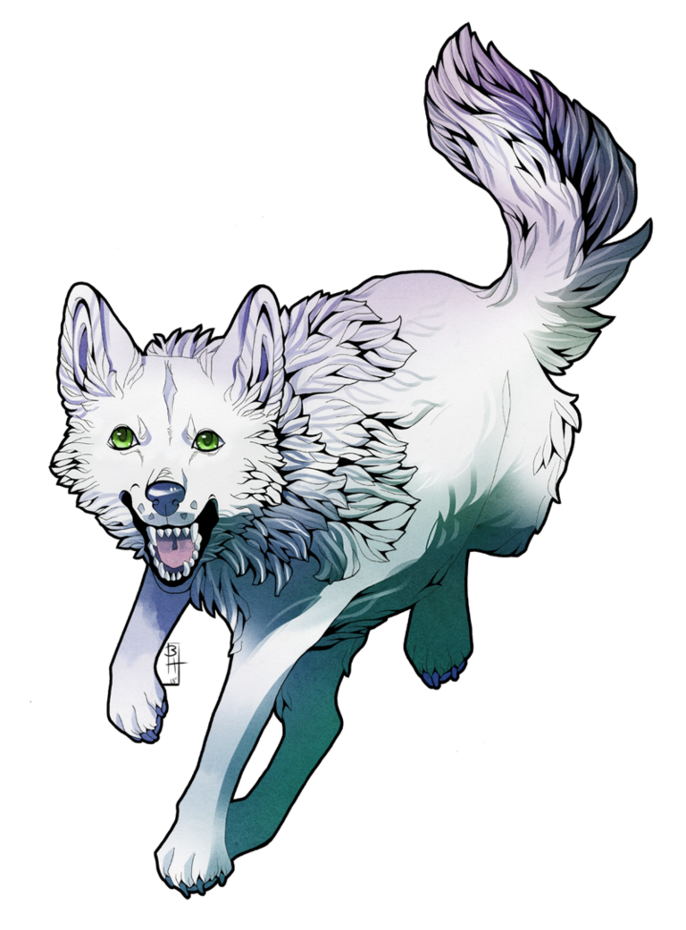 svg transparent stock Mythical wolf by Tesso on DeviantArt