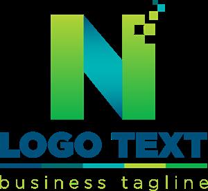 freeuse stock Letter N Logo Vector