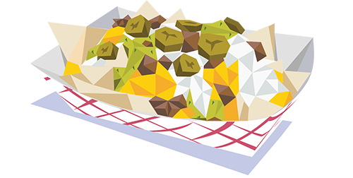 jpg transparent library Nacho clipart cartoon.  collection of nachos.