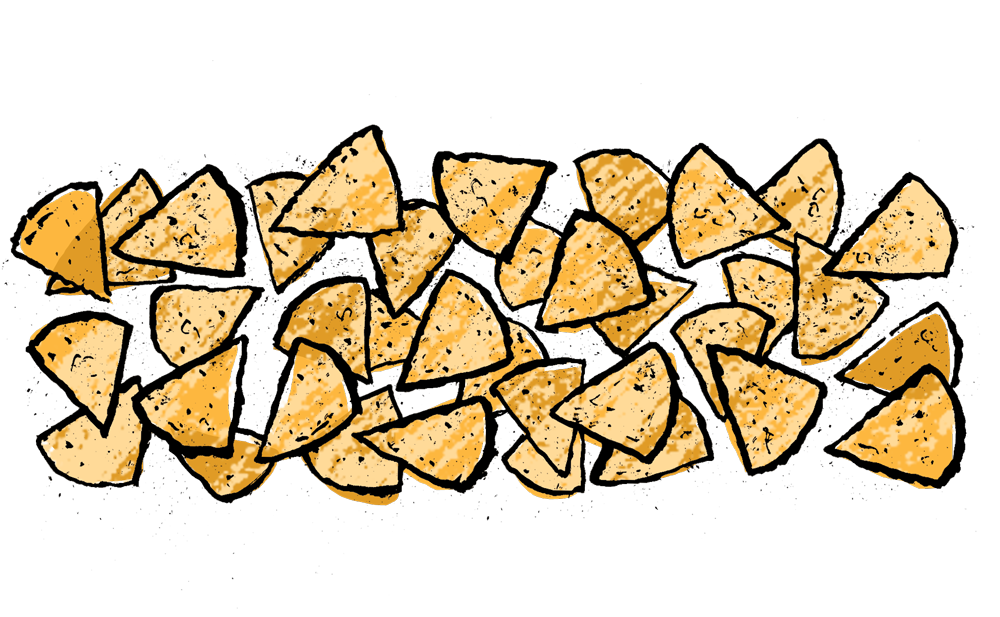 clip art freeuse download Nacho clipart melted cheese. The perfect nachos a.