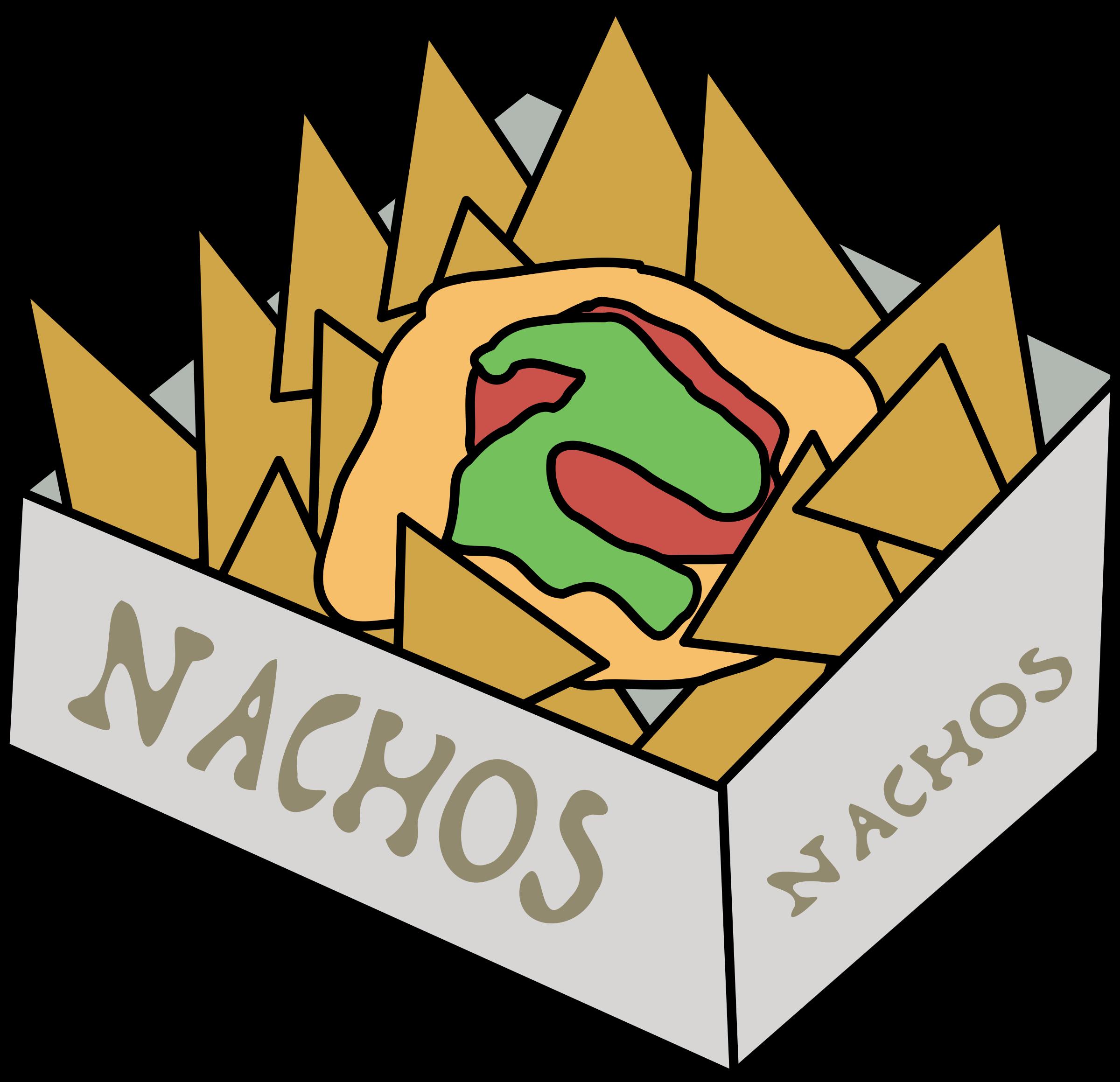 svg royalty free Nachos big image png. Nacho clipart.