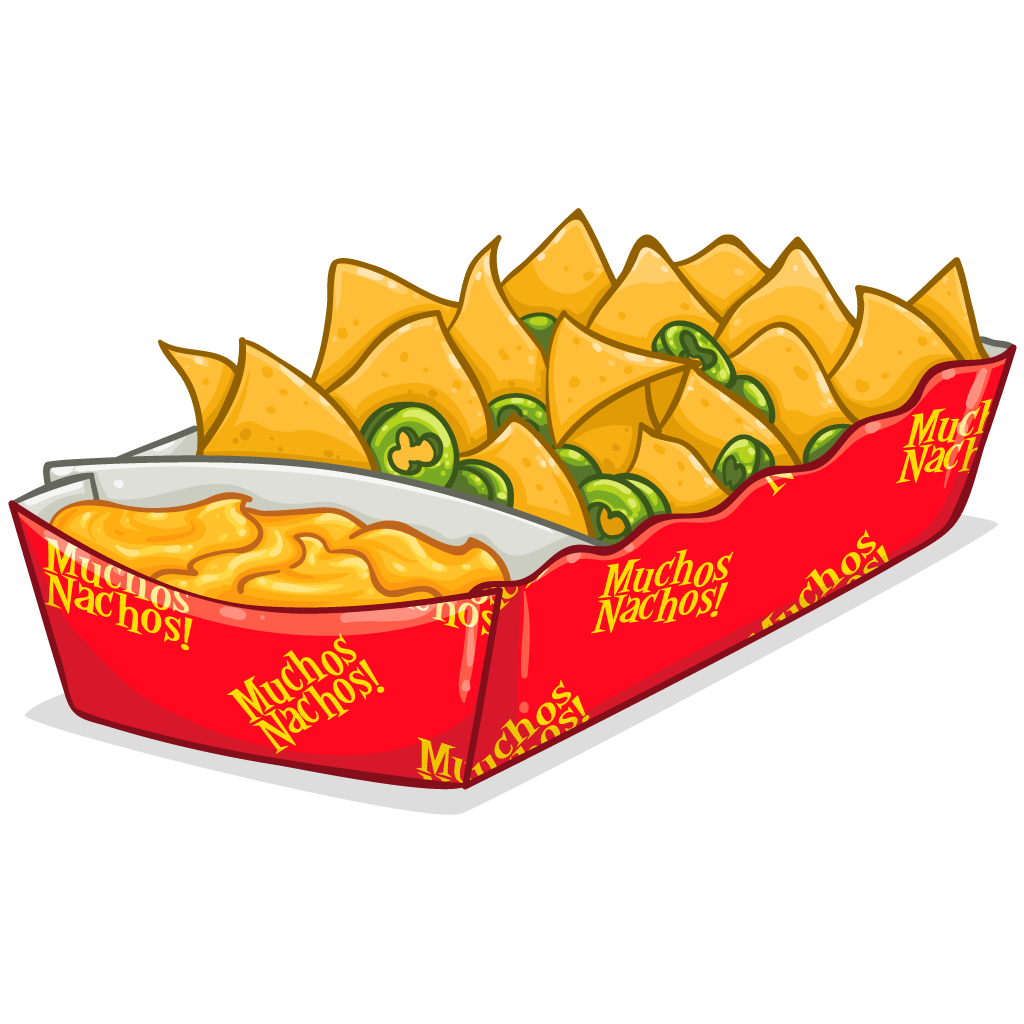 vector free Clipground dinner in clip. Nachos clipart