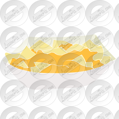 banner download Nachos clipart. Stencil for classroom therapy.
