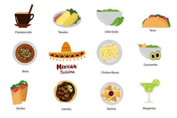 banner black and white stock Nachos clipart food item. Mexico clip art mexican.
