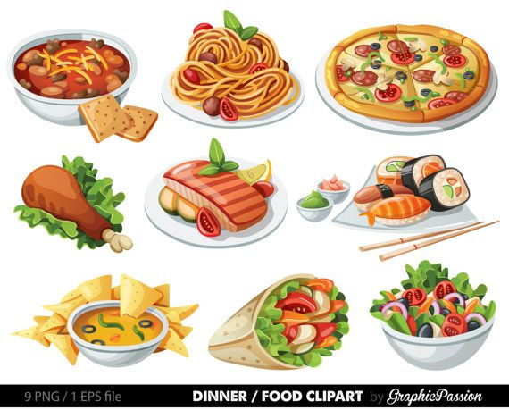 jpg Food clip art spaghetti. Nachos clipart meal.