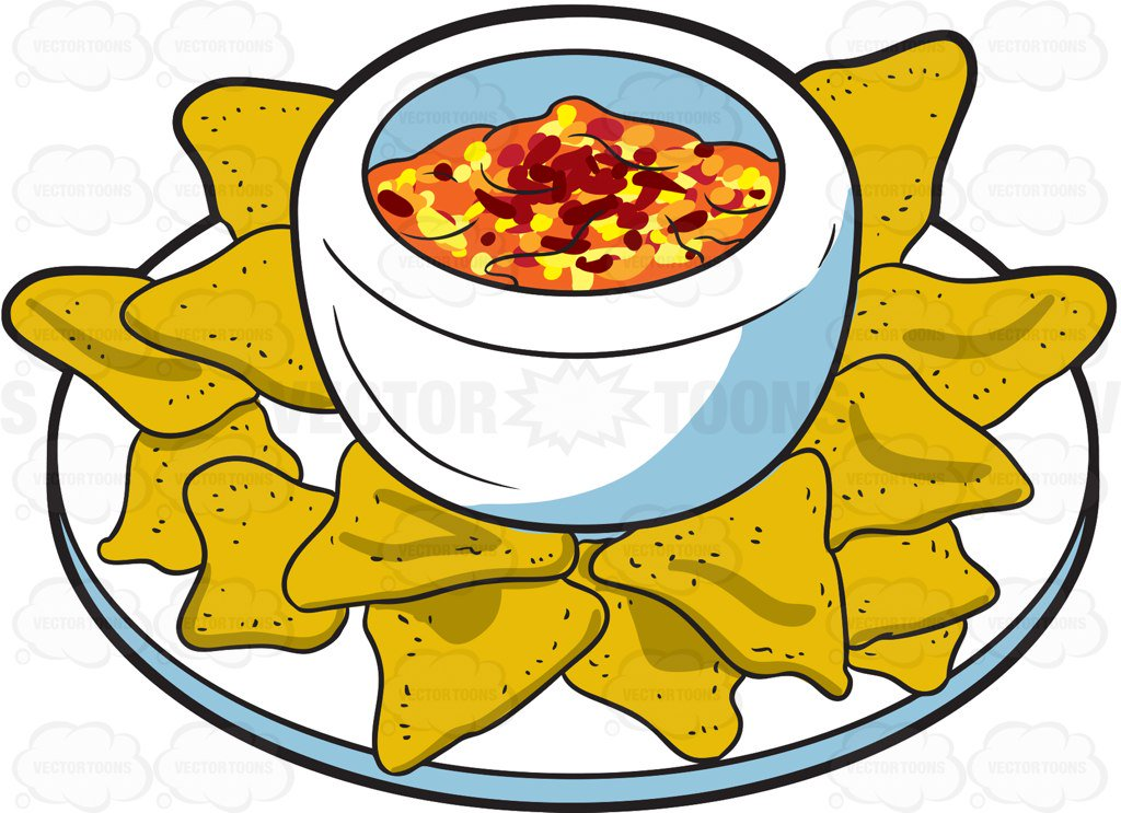 clipart royalty free stock Nachos clipart meal.  nacho super for.