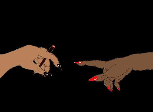 banner freeuse doodle nails