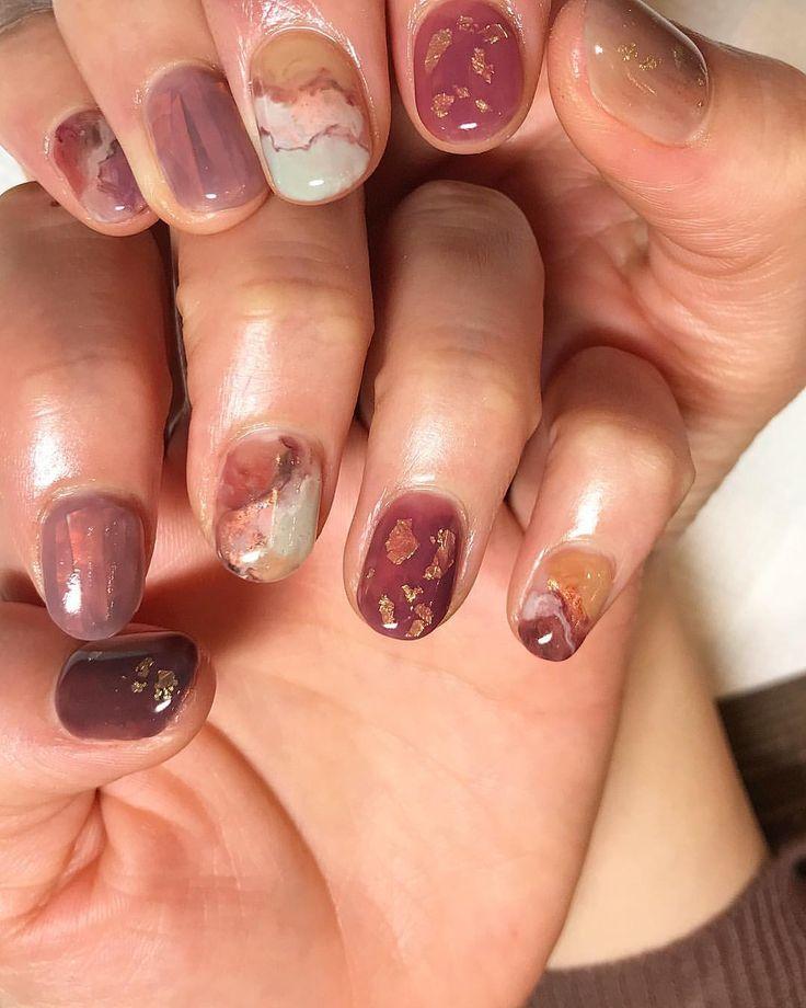 clip library Intheforestnail aoikoganail art . Nails drawing short nail