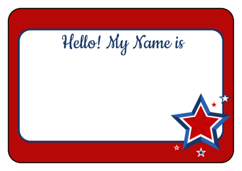 clip royalty free name tag clipart #67785692
