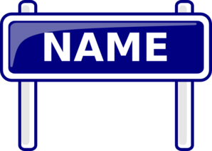 transparent stock Free names cliparts download. Name clipart.